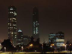 Santiago de noche by <b>Andres Andonie</b> ( a Panoramio image )