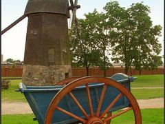 Cart & Windmill by <b>Rein Nomm</b> ( a Panoramio image )