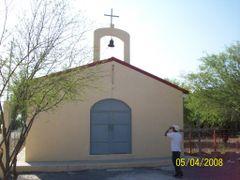 Iglesia en antiguo Cerro Prieto by <b>biologocervantes</b> ( a Panoramio image )