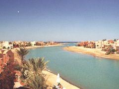 View from my room, Hotel Dawar El Omda, El Gouna by <b>canioeddi</b> ( a Panoramio image )