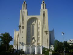 Cathedrale Sacre Coeur, Casablanca by <b>elakramine</b> ( a Panoramio image )