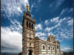 Notre-Dame de la Garde. La Bonne Mere.  Marseille. France 2013. by <b>AlSanin</b> ( a Panoramio image )