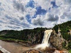 Chute Montmorency - Panorama by <b>K?ptn Iso</b> ( a Panoramio image )