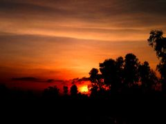 Beautiful Sunset by <b>Jawed Hasan</b> ( a Panoramio image )