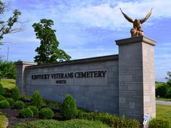 Entrance to the Kentucky Veterans Cemetery North by <b>uclynch</b> ( a Panoramio image )