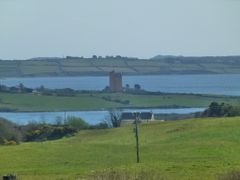 The Pink Castle, Kilcoe Castle, near Ballydehob in West Cork - h by <b>luciolampyris</b> ( a Panoramio image )