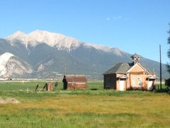 Mt. Princeton/Gas Creek Schoolhouse by <b>peakview10</b> ( a Panoramio image )