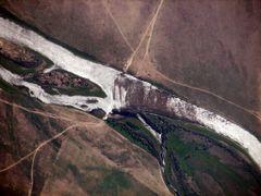 Переправа - horse crossing river  mongolia by <b>Mikhail Maksimov</b> ( a Panoramio image )