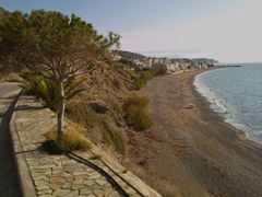 Mitros beach by <b>longdistancer</b> ( a Panoramio image )