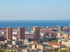 Genova Sampierdarena - veduta del porto by <b>© ? paola chiarella</b> ( a Panoramio image )