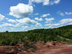 Cheltenham Badlands 3 by <b>Lady Harley</b> ( a Panoramio image )