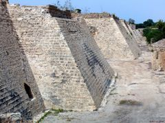 Walls of Caesarea 2008 by <b>Ilya Borovok</b> ( a Panoramio image )