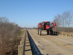 Farm Vehicle on US 79 by <b>DieselDucy</b> ( a Panoramio image )
