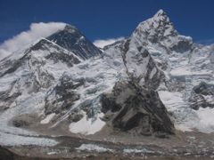 Mt Everest from Kala Pattar by <b>tetsuya223</b> ( a Panoramio image )