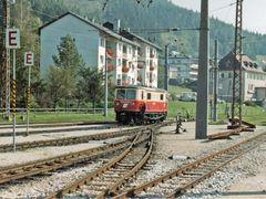 Mariazell Bahnhof BR 1099 beim rangieren by <b>©schw@bendude</b> ( a Panoramio image )