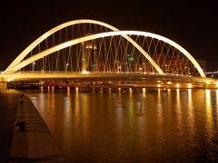 Tianjin Dagu Bridge @ Night by <b>ChiefTech</b> ( a Panoramio image )