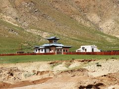 Cycle in Mongolia: a small temple in Ulliastai by <b>jlguo</b> ( a Panoramio image )