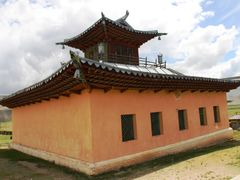 Cycle in Mongolia: backside of the temple by <b>jlguo</b> ( a Panoramio image )