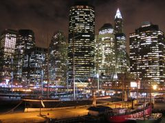 South Street Seaport and Financial Center skyline [007783] by <b>Thorsten</b> ( a Panoramio image )