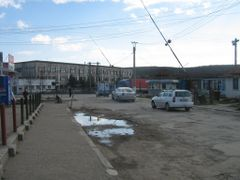 Plopeni, la bariera catre piata orasului by <b>aliensamadhi</b> ( a Panoramio image )