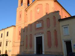 Modigliana (FC) - P.zza Cesare Battisti - Facciata del Duomo (12 by <b>esse est reminisci (SAVE PANORAMIO)</b> ( a Panoramio image )