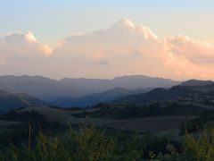 "Panorama dalle colline di Modigliana verso l""Appennino Tosco-Rom by <b>esse est reminisci (SAVE PANORAMIO)</b> ( a Panoramio image )"