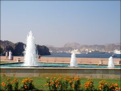 Matrah Harbor - Muscat - Oman  ....{by Bassam} by <b>~Bassam</b> ( a Panoramio image )