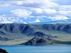 Cycle in Mongolia: tolbo lake and the snow mountains by <b>jlguo</b> ( a Panoramio image )