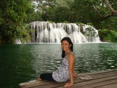 Cachoira no Rio Mimoso no Parque das cachoeiras em Bonito - Mato by <b>Paulo Yuji Takarada</b> ( a Panoramio image )