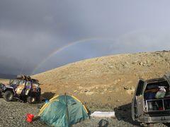 Радуга на оз. Уурэг-Нуур (17 августа 2013г.) by <b>ShatoOn</b> ( a Panoramio image )