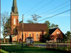 Claude Presbyterian Church - 1870. No running water until 1963! by <b>Tomros</b> ( a Panoramio image )