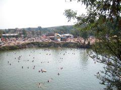 Ocna Sibiului - Lacul Avram Iancu by <b>dolfy-Adolf Schichel</b> ( a Panoramio image )