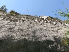 Khodzhokelen, sacred grotto, view up by <b>igor_alay</b> ( a Panoramio image )