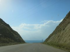Bishkek - Osh highway, around Toktogul reservoir (~W) by <b>igor_alay_2</b> ( a Panoramio image )