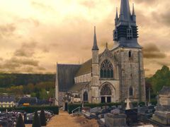 Eglise Notre-Dame de la Couture by <b>Nicolas Aube</b> ( a Panoramio image )