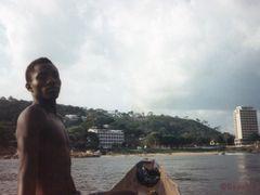 Rock Hotel + Sofitel from Ubangui River by <b>Rosa1</b> ( a Panoramio image )