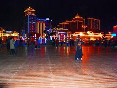 Китай. Яньцзи. Ночные танцы. China. Yanji. Night dances. by <b>Veniamin Manuylov</b> ( a Panoramio image )