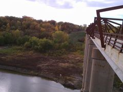 High Trestle Trail Bridge Supports by <b>jpmidwest</b> ( a Panoramio image )