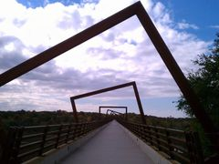 High Trestle Trail Bridge View by <b>jpmidwest</b> ( a Panoramio image )