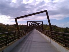 High Trestle Trail Bridge View 2 by <b>jpmidwest</b> ( a Panoramio image )