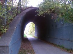 High Trestle Trail Corrugated Tunnel in Madrid, IA by <b>jpmidwest</b> ( a Panoramio image )