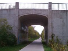 High Trestle Trail Tunnel, Madrid, IA by <b>jpmidwest</b> ( a Panoramio image )
