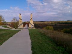 High Trestle Trail West Bridge View by <b>jpmidwest</b> ( a Panoramio image )