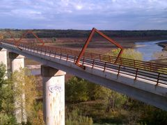 High Trestle Trail Bridge view of Supports from West 3 by <b>jpmidwest</b> ( a Panoramio image )