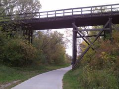 High Trestle Trail Wooden trestle in Madrid, IA by <b>jpmidwest</b> ( a Panoramio image )