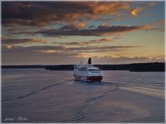 Traveling with Viking line on Baltic sea by <b>Ahmet Bekir</b> ( a Panoramio image )