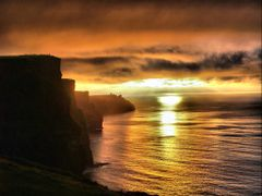 Cliffs of Moher  by <b>Husker Inanna</b> ( a Panoramio image )