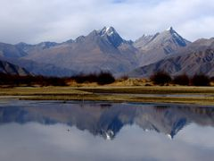 Yarlung Zangbo River , Tibet, China by <b>evenou</b> ( a Panoramio image )
