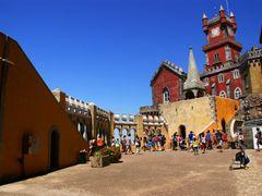 Sintra, Palacio Nacional da Pena by <b>Christos Theodorou</b> ( a Panoramio image )