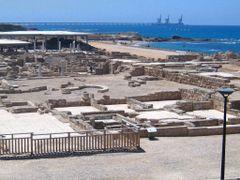 Caesarea National Park overview by <b>CarmelH</b> ( a Panoramio image )